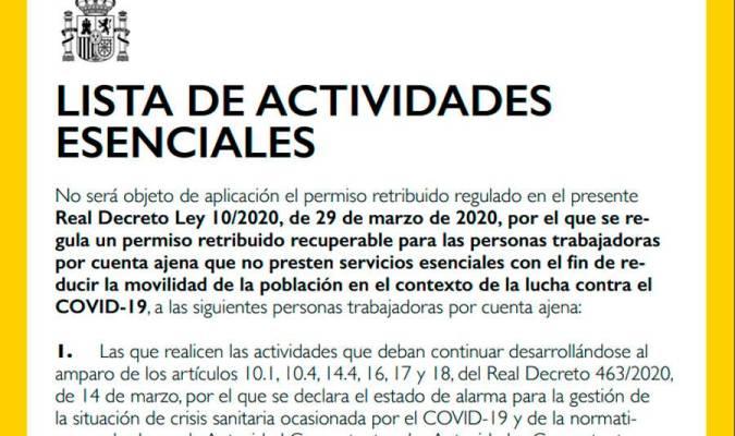Dringend: Bezahlter Urlaub Covid-19